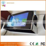 "42"",55"",65"" flat surface waterproof coffee table kiosk,indoor touch screen table"