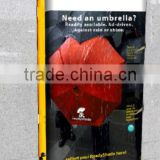 Convenient Umbrella Vending Machine LD704 with coin and bill acceptor with LED display screen