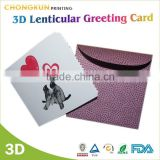 Heart Shape Handmade 3D Christmas Greeting Card