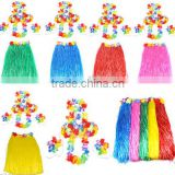 Flowers hawaiian evening dress fancy dress costume accessory wholesale for girl BWG-4059