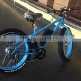 "2016 hot sale snow electric bike; 26"" fat electric bike 48V/1000W,electric fat bike"