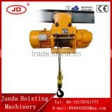 China factory High quality 0.5ton to 20ton electric wire rope block hoist (CD1/MD1) for sale