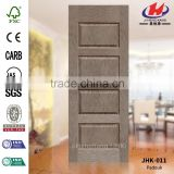 JHK-011 Large Size Outer Classic Mom and Son MDF Paddock Wood Veneer Door Skin Well in Panama