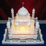 Exclusive Marble Taj Mahal Replica, Marble Taj Mahal Valentine Gift Item & Night Lamps