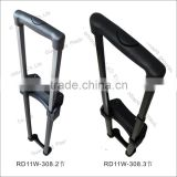 plastic folding/telescopic/retractable pull rod for bag accessories for external luggage
