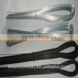 low price black annealed U type iron wire /binding wire