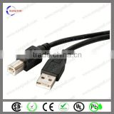 UL2742 dorect sale wired controller usb breakaway cable for xbox 360
