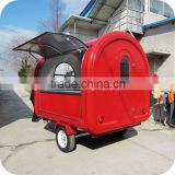 2014 Luxurious Outdoor Crepes Burrito Display Kiosk Counter Trailer with Led Lights Design XR-FC250 D