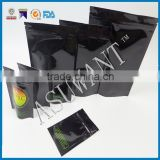 Zip-lock bags Aluminum Metallic Mylar Smell and order Proof Black 3x4 inchs