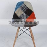 New design patchwork leisure wooden chair/cheap chair/patchwork chair (1028E)