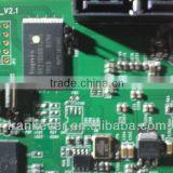 transmitter and receiver printed circuit board