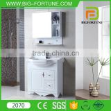 kitchen cabinets design vanity with wooden wall shelf                                                                         Quality Choice