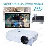 USB HDMI VGA 3600 Lumens High Brightness video Digital 1080p full HD 3D DLP Projector Proyector beamer