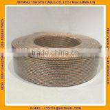 pure copper crystal speaker cable Gold and Silver copper Speaker Wire