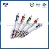 2016 Wholesale fashion press ballpoint pen with customized design for school kids                                                                                                         Supplier's Choice