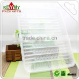 Custom PET Clear Vegetable Fruit Plastic Food Tray,wholesale clear plastic disposable food tray                                                                         Quality Choice