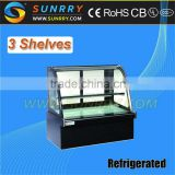 Bakery Cake Showcase/Cake Showcase Chiller/Refrigerator Cake Showcase (SY-CS374A SUNRRY)