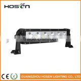 high brightness 60w single row off road 10w led light bar for car roof top