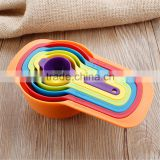 Wholesale Cheap Food Grade Measure Plastic Cup with Handle Kitchen Plastic Measuring Cups