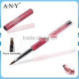 ANY Professional Nail Art Beauty Design Nail Art Rhinestone Pure Kolinsky Nail Art Brush 3D Design
