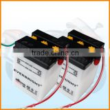 Best sales products of 6v 4ah used for starting generator long recycle life lawn mower battery manufacture factory