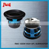 "Trade assurance car audio subwoofer for cars with RMS 1500w high spl subwoofer JLD AUDIO 10"" 12"" 15"" 18"" car speakers subwoofer"