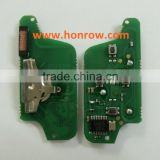 ASK 4 button citroen remote electronic board with PCF 7941 chip 433mhz be used for April 2011 year citroen car key