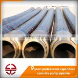 high quality concrete cement grouting pump rubber hose