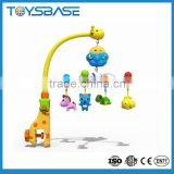 Hot sale 2016 baby musical mobile custom felt baby mobile baby