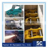 excavator spare parts bucket connect attachment excavator quick hitch