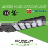 5 years warranty snc 300w UL cUL DLC list led street lamp with photo cell for north American