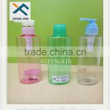 Screen Printing Surface Handling and Flip Top Cap Plastic Material PET plastic bottle For Cream Oil