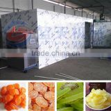 CE ISO9001 approved clean heat pump dryer electric PLC control Chinese chestnut dehydrator