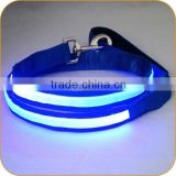 Brand New 2015 Made in China Safety Leash Glowing in Dark for Pet Dogs
