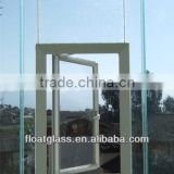 5-15mm exterior or building glass walls customerized cutting