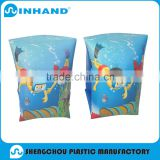 pvc inflatable baby swimming armband, promotional baby arm ring