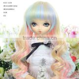 Ball jointed doll wig