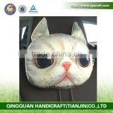 QQ Pet Factory Head Rest Cushion Car Seat Neck Pillow Bamboo Carton Inside Travel Pillow