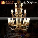 new brand fashion glass and brass chandeliers,Hot antique white fashion brass chandelier