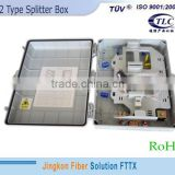china factory Fiber Optic Termination Box with 1:32 splitter & waterproof fiber optical Termination equipment