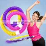 stainless steel spring exerciser/ soft hula hoop fitness