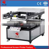 vacuum Flat Bed Semi-automatic Wedding Card Spot Uv Prices Of Silk Screen Printing Machine With Micro-registration For Sales
