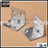 Custom Competitive price wall mounted bedroom furniture L shape stainless steel brackets