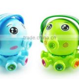 2016 Hot Custom Wind Up Cartoon Octopus Baby Toys/OEM Eco-friendly Cartoon Baby Shop Toys/Plastic Baby Toys China Manufacturer
