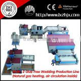 WJM-2 Thermo Bonded Wadding Production Line