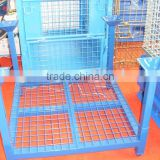 Stackable pallet rack