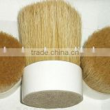 chinese chungking pig hair white boiled pig bristles mixed pet