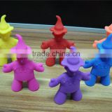 customized design food grade silicone baby chopstics holder crown shaped chopstic holders