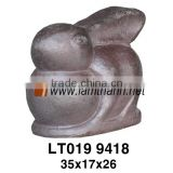 Decorative Home Ceramics Glazed High Fired Rabbit