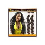 Chinese Natural Black Bulk Remy Virgin Human Hair Extensions High quality in Stock
